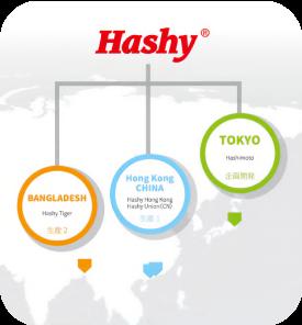 ハシーグループ hashy OEM 拠点